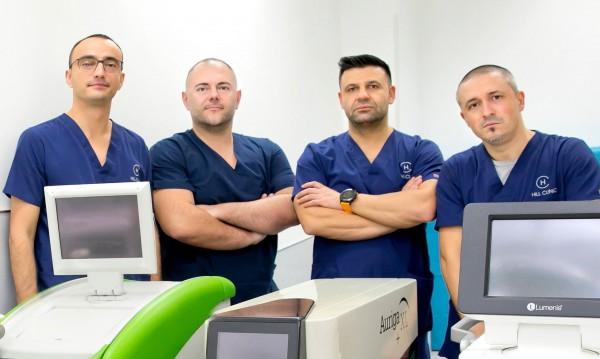 Рекорден брой безкръвно оперирани пациенти със Зелен лазер в Хил клиник
