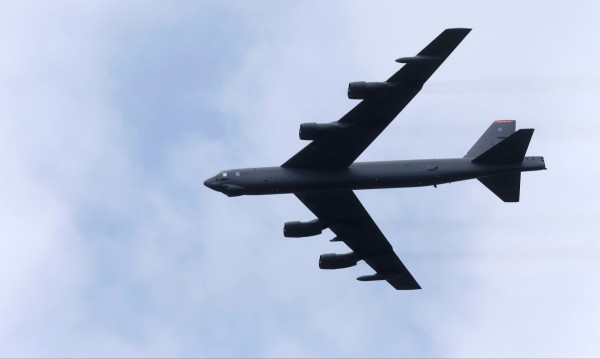 Американски бомбардировач прелетял край Русия
