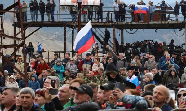 Русия празнува: Преди 5 години анексира Крим