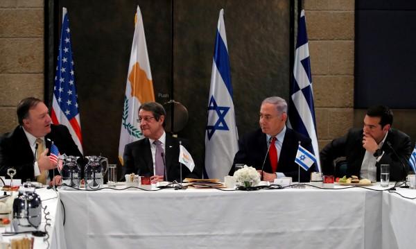 Израел, Гърция и Кипър обсъждат EastMed тръбопровод