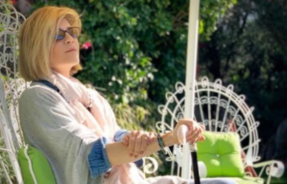 Селма Блеър отвори вратите на дома си