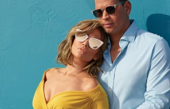 Джей Ло и Алекс Родригес станаха модели на слънчеви очила