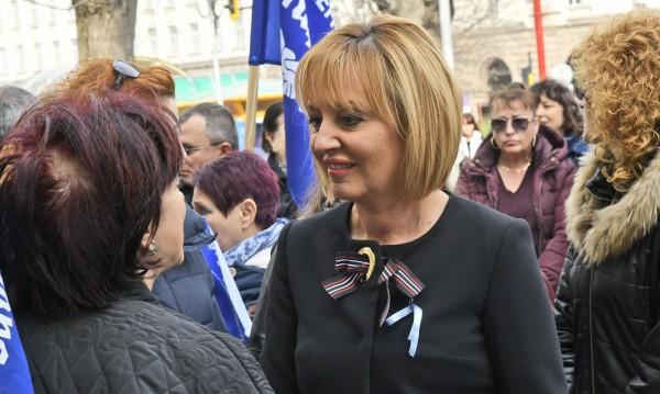 Ще стане ли Мая Манолова кмет на София?