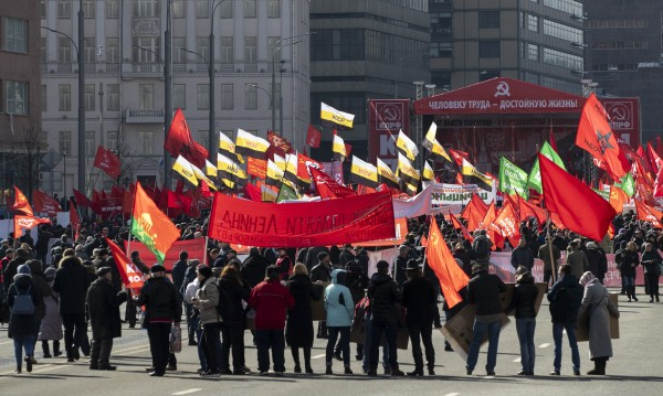Хиляди на протест в Москва срещу корупцията и скъпия живот