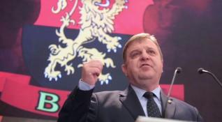 На конгреса: Каракачанов бе преизбран за лидер на ВМРО