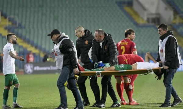 Оперират Чочев в Милано, аут е за поне 6 месеца
