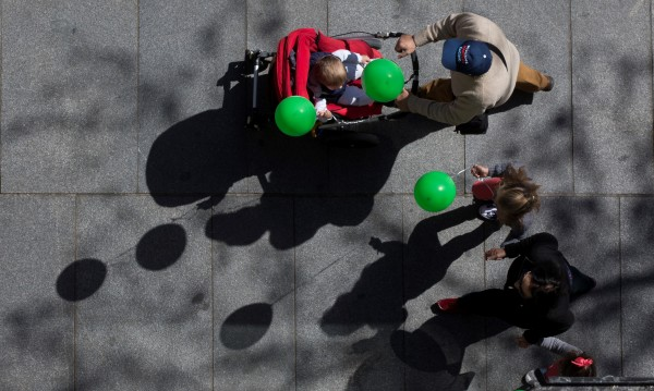Против абортите: Хиляди испанци излязоха на улицата