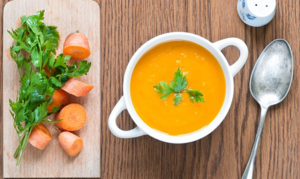 Рецептата Dnes: Крем супа от моркови с къри