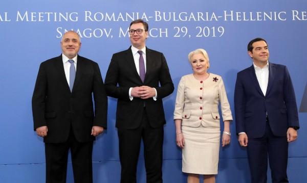 Старт на срещата между България, Гърция, Румъния и Сърбия