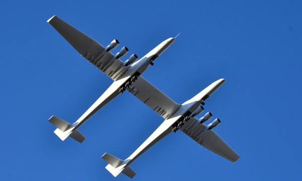Най-големият самолет създаван някога - полетя