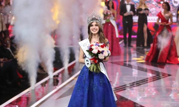 """Най-красивата рускиня: Алина Санко стана """"Мис Русия"""""""