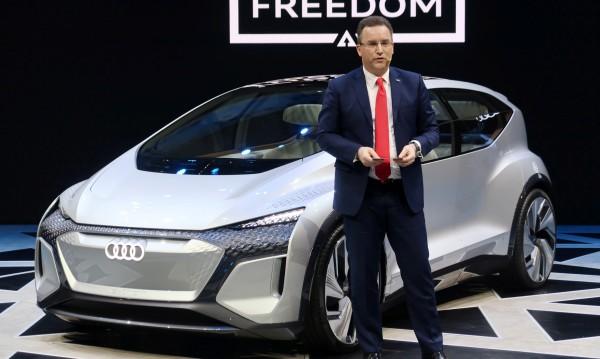 Audi се похвали с градски автомобил от бъдещето