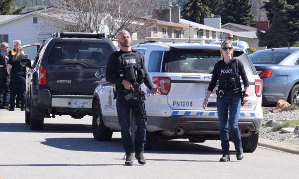 Канадец уби четирима и се предаде в полицията