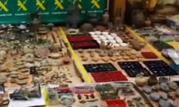 Връщат ни 30 хил. антики, незаконно изнесени в Испания