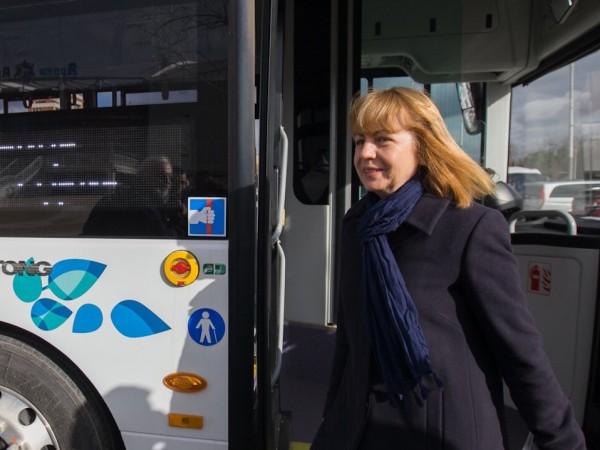 Столичната кметица Йорданка Фандъкова, която довършва третия си мандат на