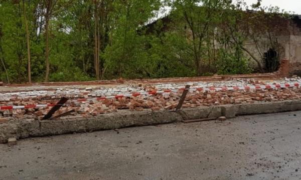 Паднала ограда в Хасково отне живота на един човек