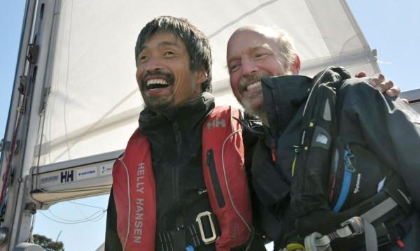 За пръв път: Незрящ пътешественик прекоси с яхта Тихия океан