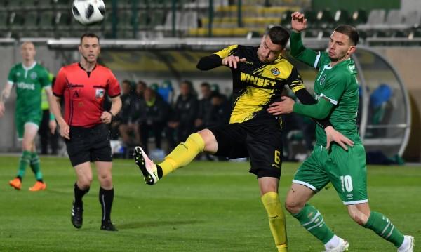 Лудогорец дръпна с пет точки на върха на Първа лига