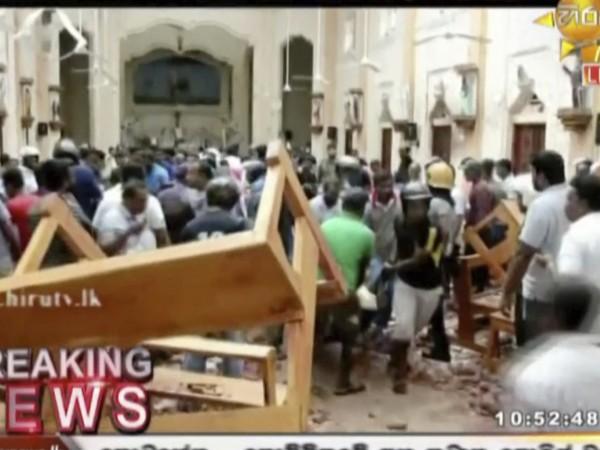 Снимка: Седма и осма експлозия в Шри Ланка!