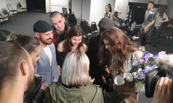 Отборът на Михаела Филева с изненада преди концерта й