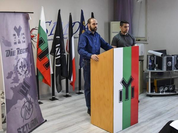 Националистически съюз от европейски крайнодесни формации беше учреден в София.