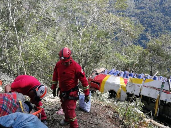 Снимка: 25 души загинаха при тежка катастрофа в Боливия