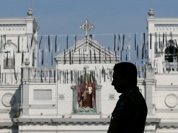 """Снимка: """"Св. Антъни"""" – чудотворната църква, взривена в Шри Ланка"""