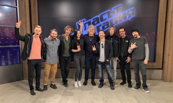 """Рок талантите от """"Гласът на България"""" срещнаха Godsmack"""