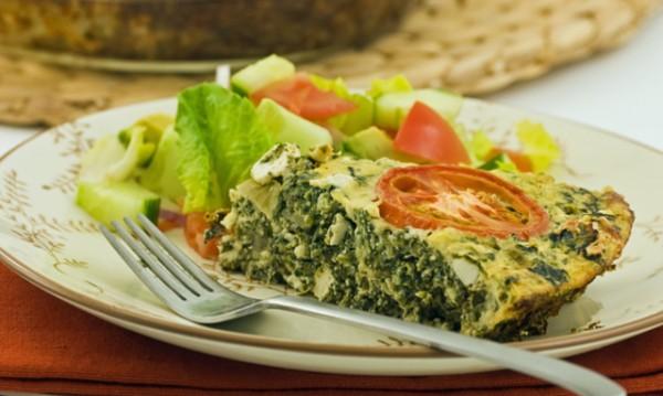 Рецептата Dnes: Спаначен киш без тесто