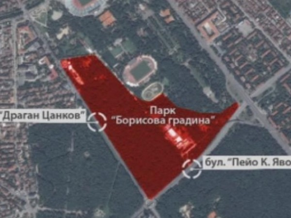 Внасят за обсъждане новия Подробен устройствен план на Борисовата градина