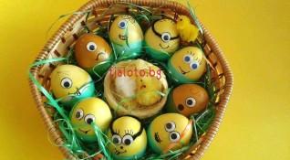 Яйца като миньони - как да си ги направите?