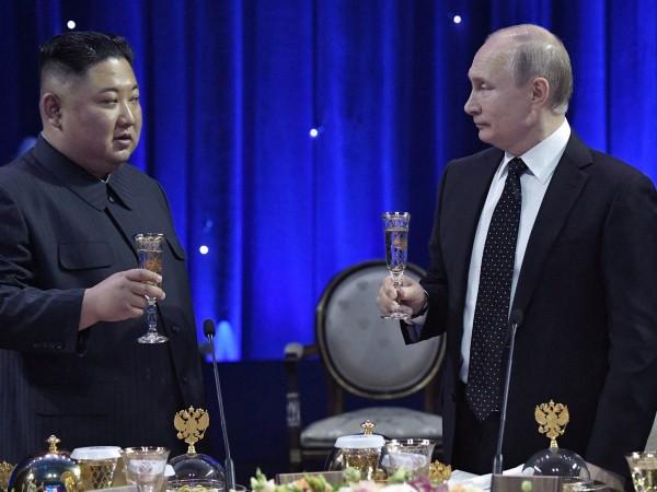 Срещата между ръководителите на Русия и Северна Корея Владимир Путин