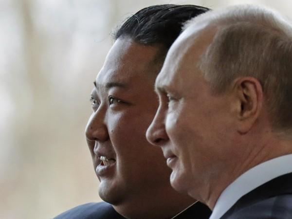 Срещата на севернокорейския лидер Ким Чен Ун с руския президент