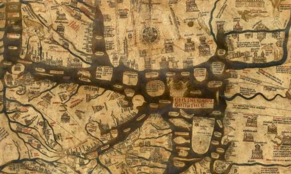 Mappa Mundi – картата на света, която оцелява 700 години