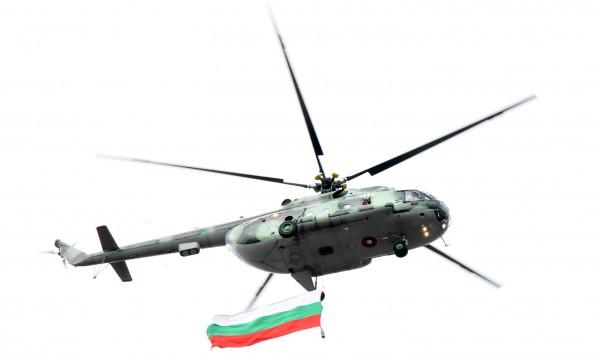 За 6 май: Вертолети и самолети от ВВС над София от днес