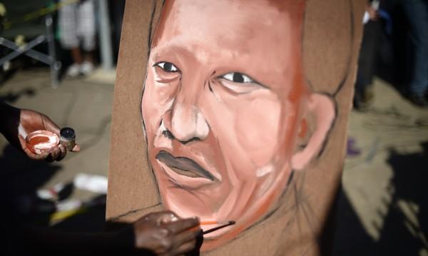 Картина на Нелсън Мандела е продадена на търг