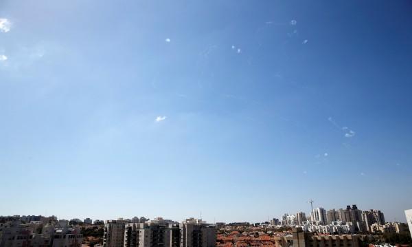 90 ракети са изстреляни от Ивицата Газа по Израел