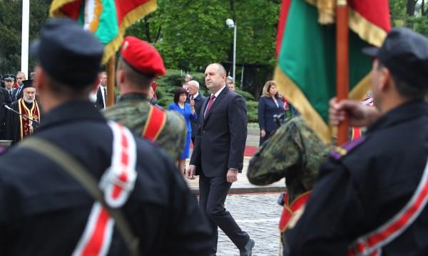 Водосвет на бойните знамена и знамената светини на армията ни