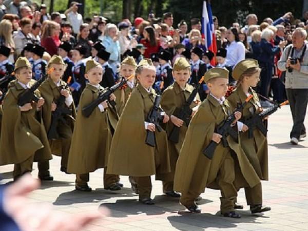 В чест на Деня на победата не само руската армия