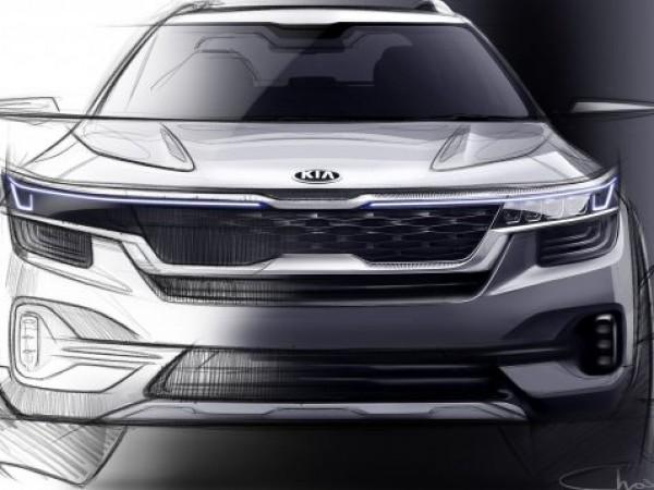 Компанията Kia публикува скици на субкомпактен кросоувър, чиито продажби ще