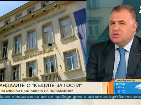 Земеделският министър Румен Порожанов напусна своя пост, а с това