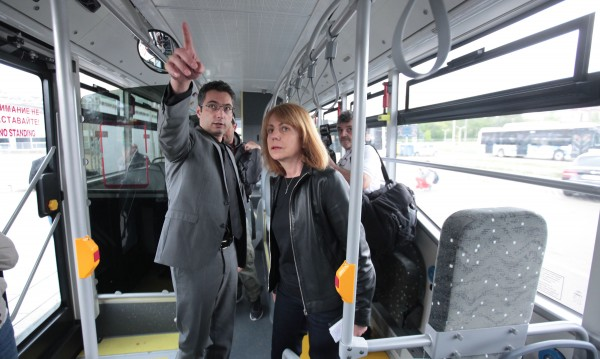 Wi-Fi, климатици... Днес потеглят 20 нови автобуса в София