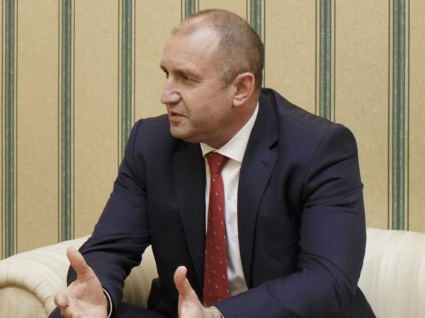 """Президентът Румен Радев прие днес на """"Дондуков"""" 2 министъра на"""