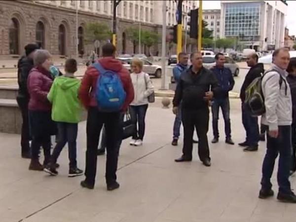 Протестите на собствениците на въозобновяемите енергийни източници, които днес излязоха