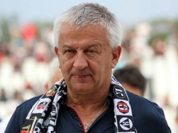 Президентът на Локомотив Пловдив Христо Крушарски бе видимо щастлив от