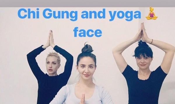 Елен Колева с ново хоби, води групи по йога и Ци Гун