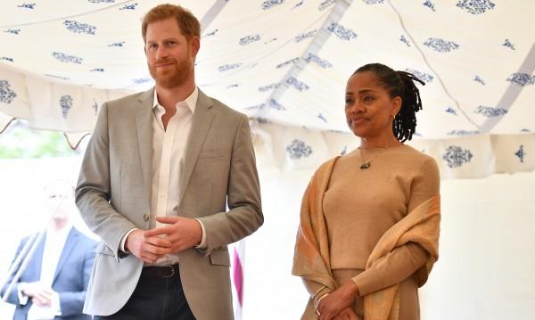 Принц Хари в чудесни отношения с тъща си Дория