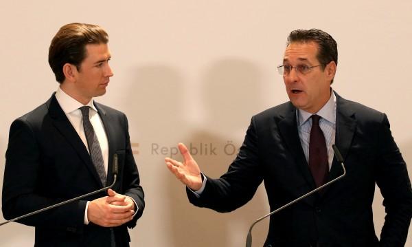 Австрийският вицеканцлер искал дарения от рускиня