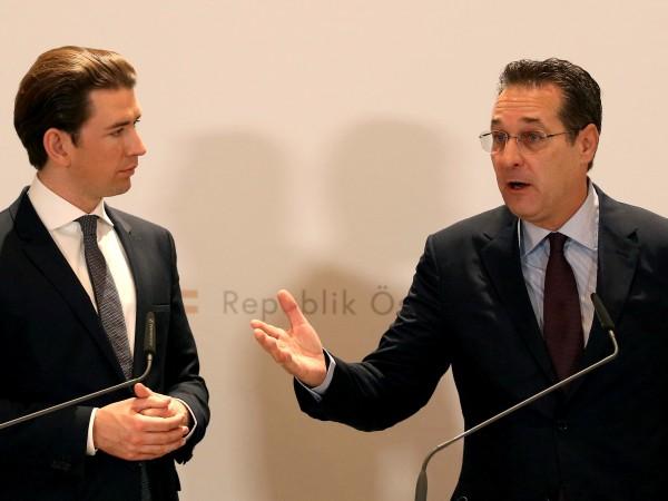 Голям скандал се разрази в Австрия с вицеканцлера и лидер