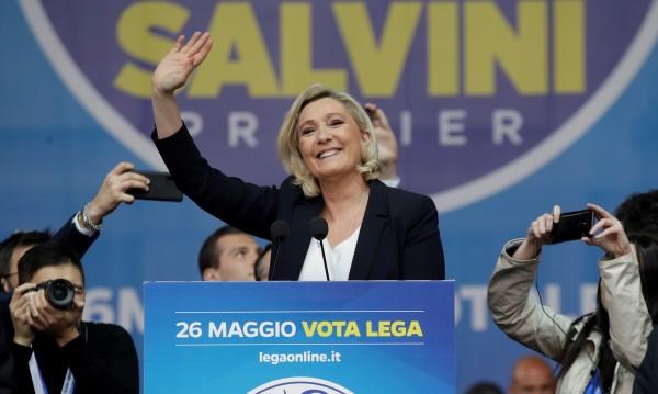 Марин Льо Пен предрича успех на популистките партии